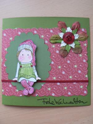 Weihnachtskarten- mein 1. Blogpost 16