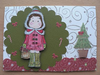 Weihnachtskarten- mein 1. Blogpost 7