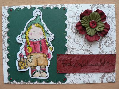 Weihnachtskarten- mein 1. Blogpost 6