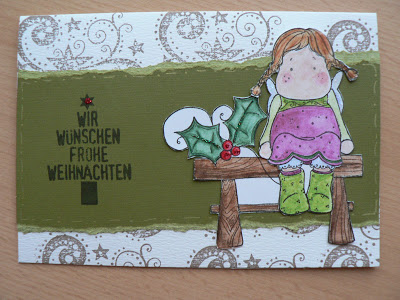 Weihnachtskarten- mein 1. Blogpost 4