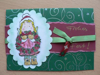 Weihnachtskarten- mein 1. Blogpost 3
