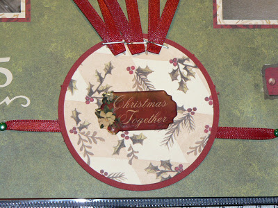 "Scrapbooking-LO ""Merry Christmas"" 6"
