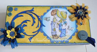 Zauberbox für Nähmaus + Handmade Schildchen 21