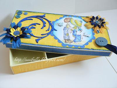 Zauberbox für Nähmaus + Handmade Schildchen 26