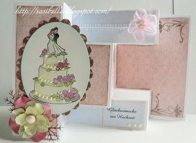 Tri-Shutter Karte zur Hochzeit 17
