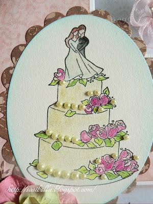 Tri-Shutter Karte zur Hochzeit 22