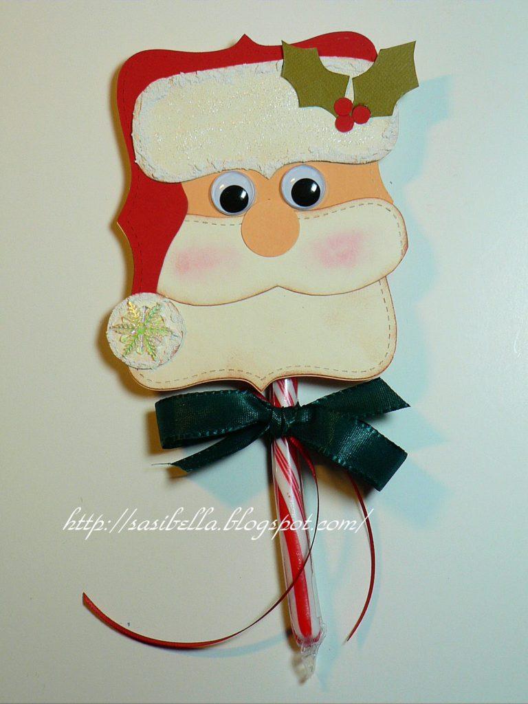 DIY Zuckerstangen-Weihnachtsmann 17