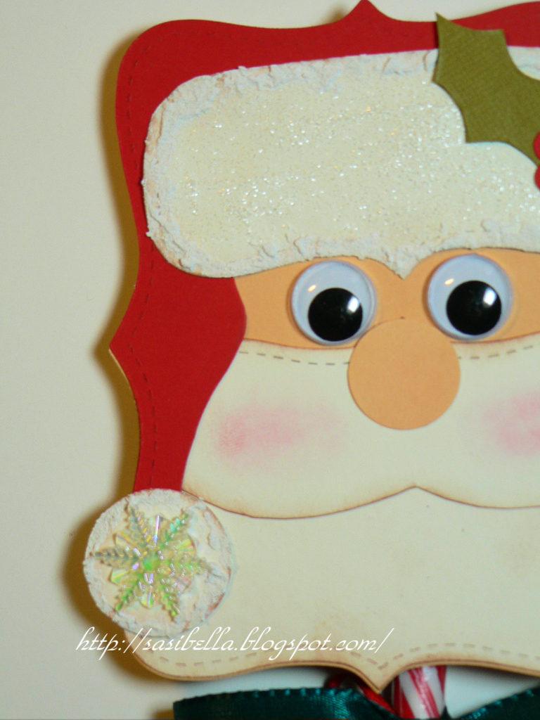 DIY Zuckerstangen-Weihnachtsmann 23