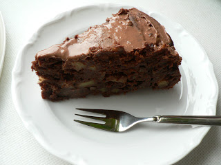 Schoko-Apfel-Walnuss Torte!!! 9
