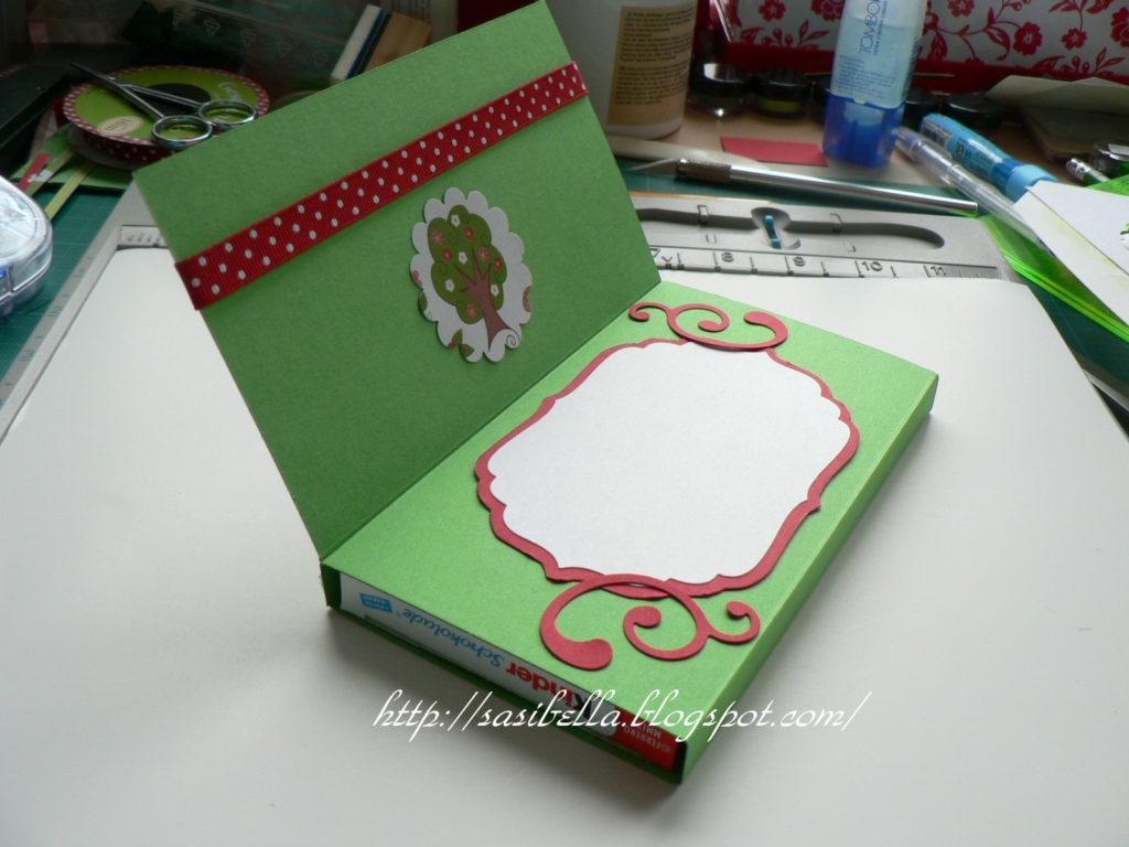 Geschenke Set Notizbuch + Karteikartenbox + Workshop Schokotafel-Verpackungs-Karte! 41