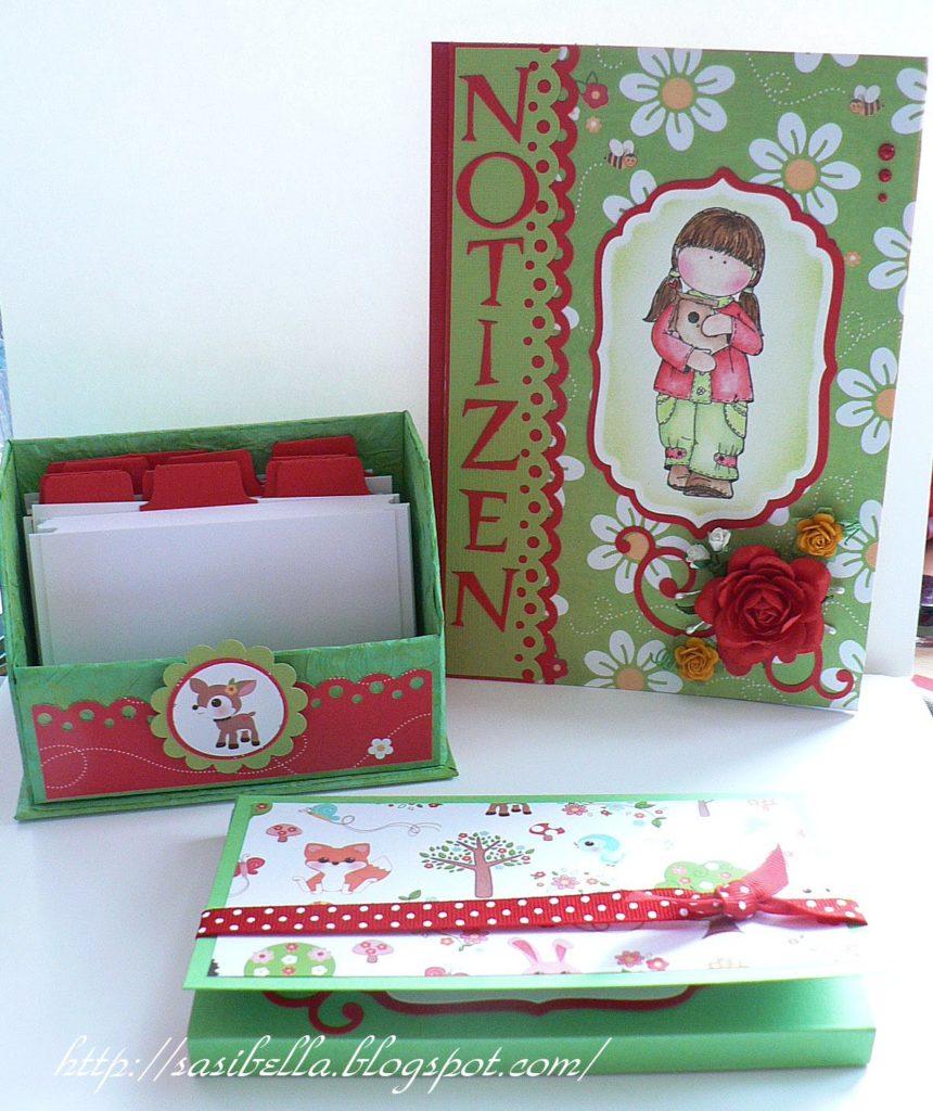 Geschenke Set Notizbuch + Karteikartenbox + Workshop Schokotafel-Verpackungs-Karte! 29