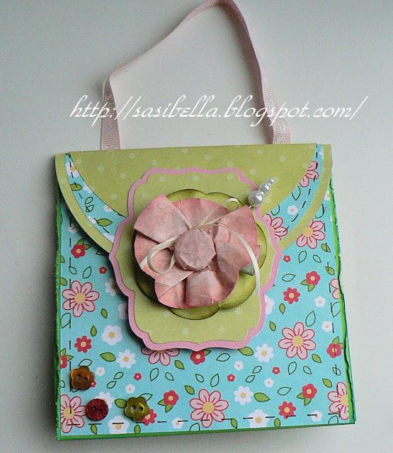Perkabook Card (Taschen Karte)+ Flower Tutorial 38