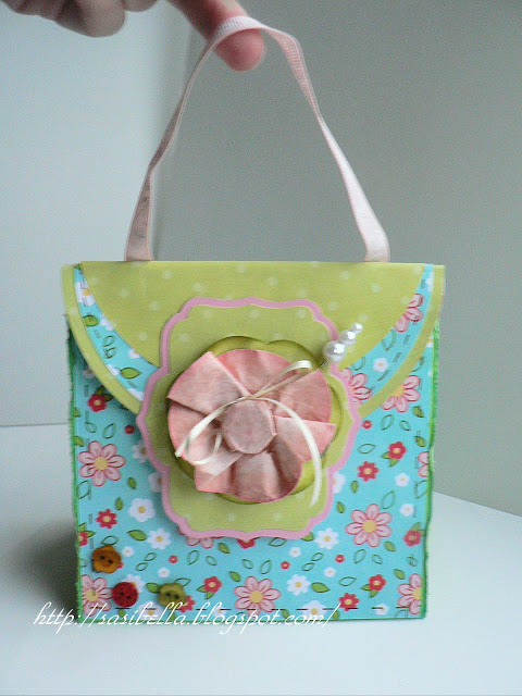 Perkabook Card (Taschen Karte)+ Flower Tutorial 37