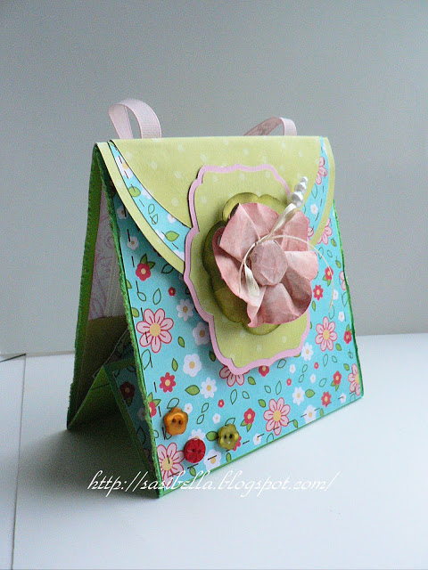 Perkabook Card (Taschen Karte)+ Flower Tutorial 39
