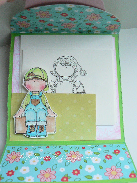 Perkabook Card (Taschen Karte)+ Flower Tutorial 42
