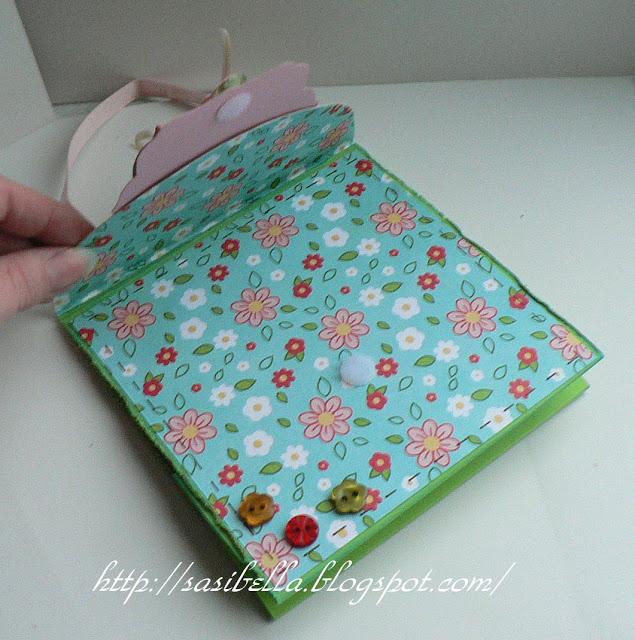 Perkabook Card (Taschen Karte)+ Flower Tutorial 41