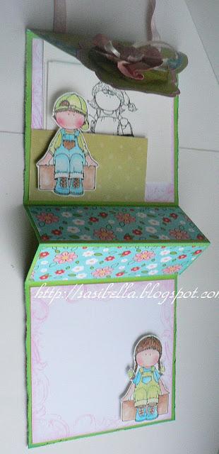 Perkabook Card (Taschen Karte)+ Flower Tutorial 43