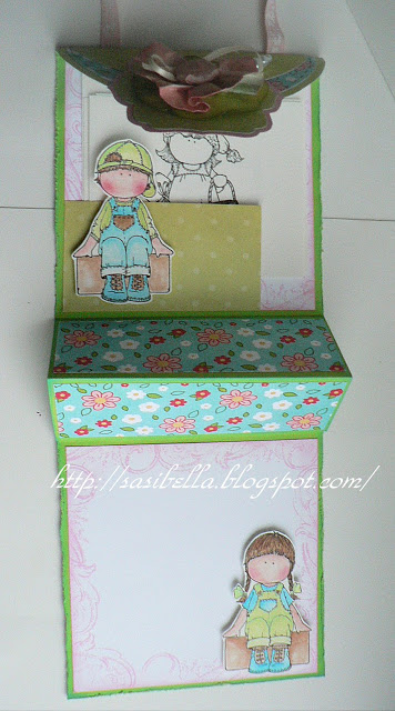 Perkabook Card (Taschen Karte)+ Flower Tutorial 44