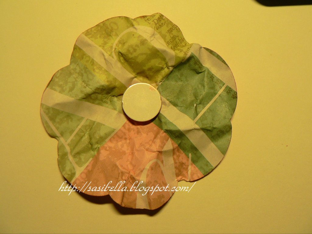 Perkabook Card (Taschen Karte)+ Flower Tutorial 49