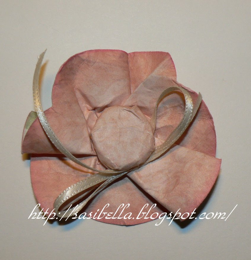 Perkabook Card (Taschen Karte)+ Flower Tutorial 52