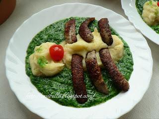 Kinder Wunschessen Tag -Spinat mit Kartoffelbrei 7