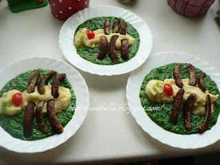 Kinder Wunschessen Tag -Spinat mit Kartoffelbrei 2