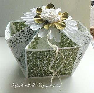 DIY Desk Caddy - eine edle Verpackung für Hochzeiten o.ä. 11