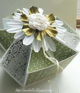 DIY Desk Caddy - eine edle Verpackung für Hochzeiten o.ä. 5