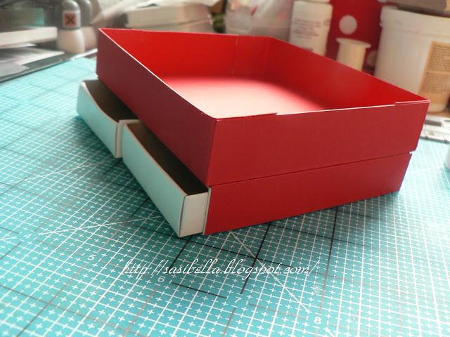 """Frohe Ostern + DIY / Workshop """"Taschen-Kommode aus Papier"""" 8"""