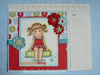 Kalenderblatt Sommer 14