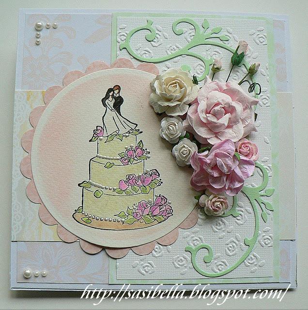 Hochzeits Easel Card / edle Hochzeitskarte handgemacht 14