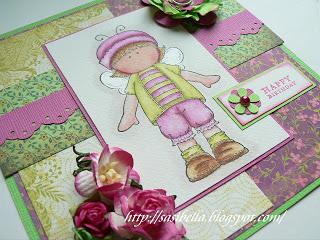Stempelkarte mit Hänglar Motiv 11