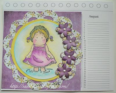 Kalenderblatt August 1