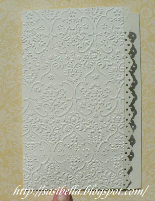 Tri Fold Card - Wieder mal Hochzeit 4
