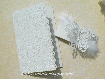 Tri Fold Card - Wieder mal Hochzeit 2