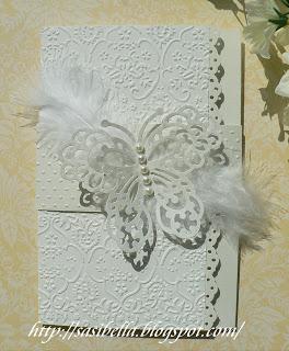 Tri Fold Card - Wieder mal Hochzeit 1