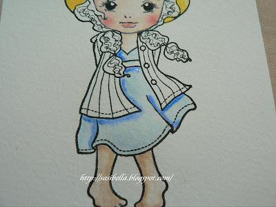 Gast -DT beim Stempeleinmaleins - Coloration mit Twinklings 55