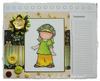 Kalenderblatt September 5