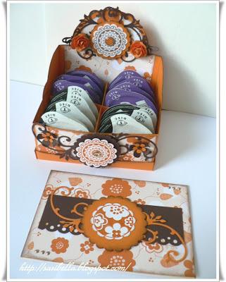 Teebeutel Box für Kaffee Discs 15