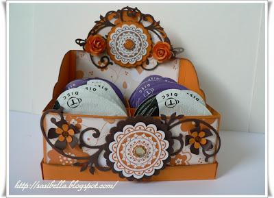 Teebeutel Box für Kaffee Discs 17
