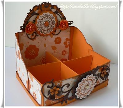 Teebeutel Box für Kaffee Discs 6