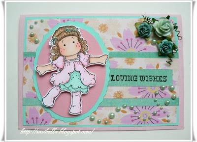 Geburtstagskarte mit Tilda 11
