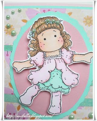 Geburtstagskarte mit Tilda 13