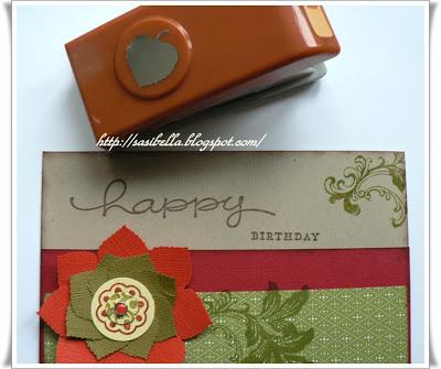 Happy Birthday a la Stampin up 3