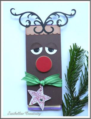 Adventskalendertürchen 4 - Rudolph a`la Stampin up 4