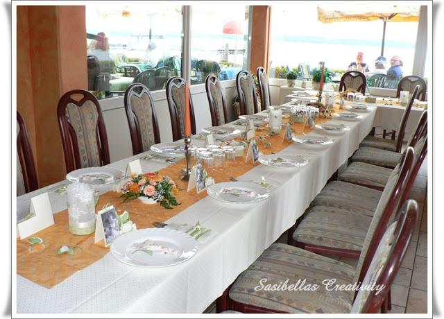 Tischdeko zum 60.Geburtstag mit Stampin up 80