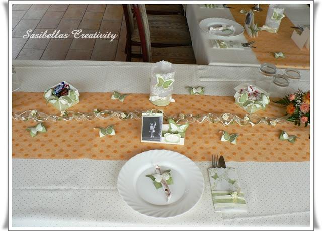 Tischdeko zum 60.Geburtstag mit Stampin up 2