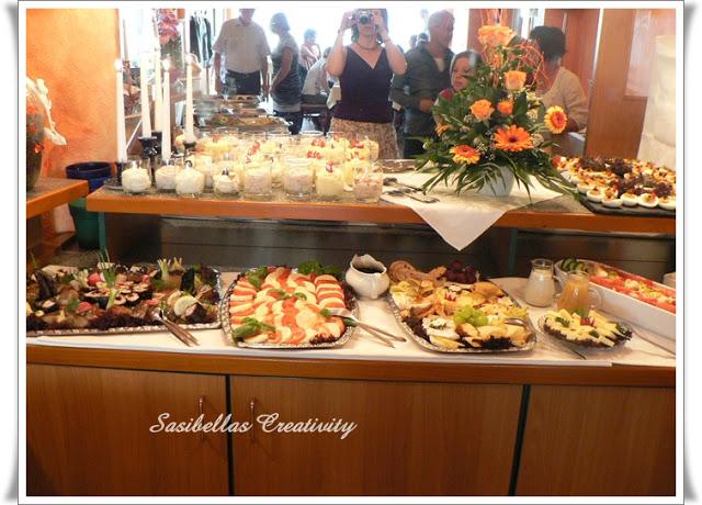 Tischdeko zum 60.Geburtstag mit Stampin up 15