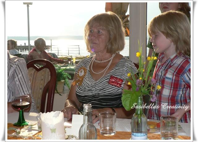Tischdeko zum 60.Geburtstag mit Stampin up 91