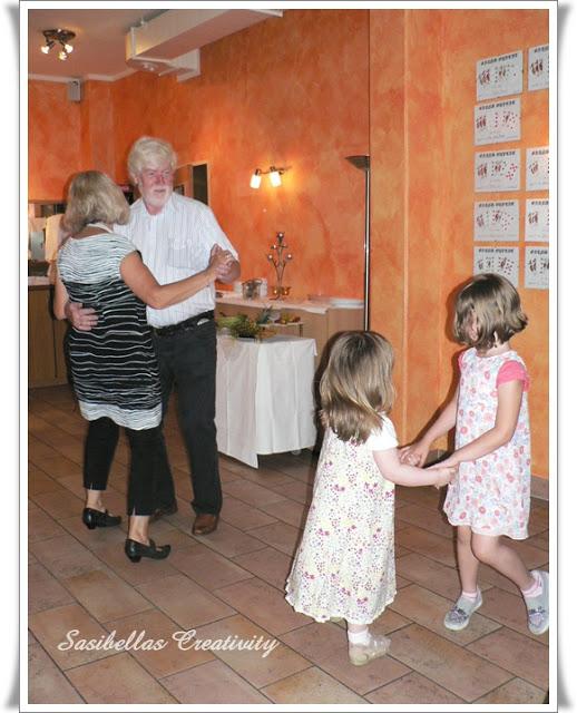 Tischdeko zum 60.Geburtstag mit Stampin up 24